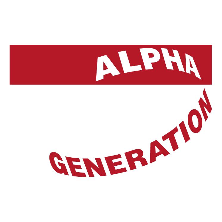 free vector Alpha generation