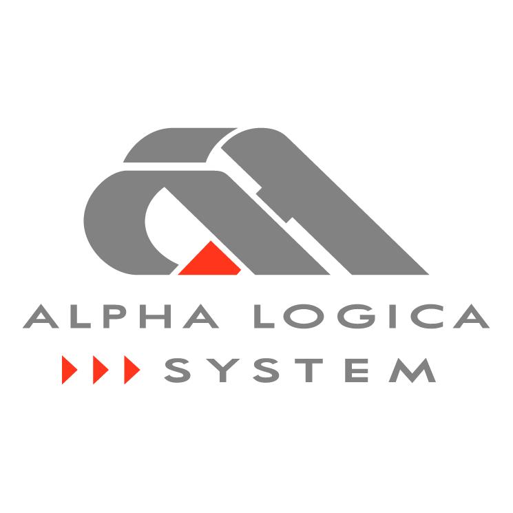 free vector Alpha logica system