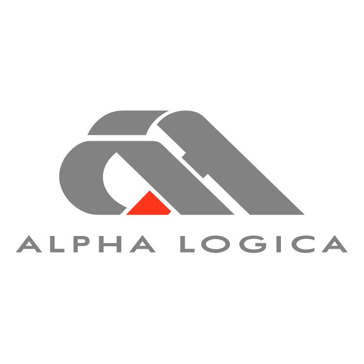 free vector Alpha logica