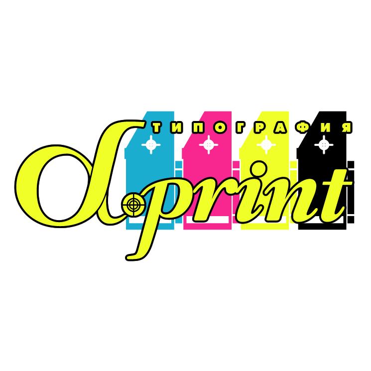 free vector Alpha print