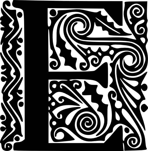 free vector Alphabet E clip art 127141