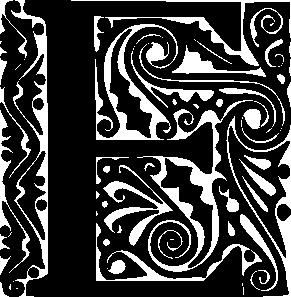 free vector Alphabet E clip art