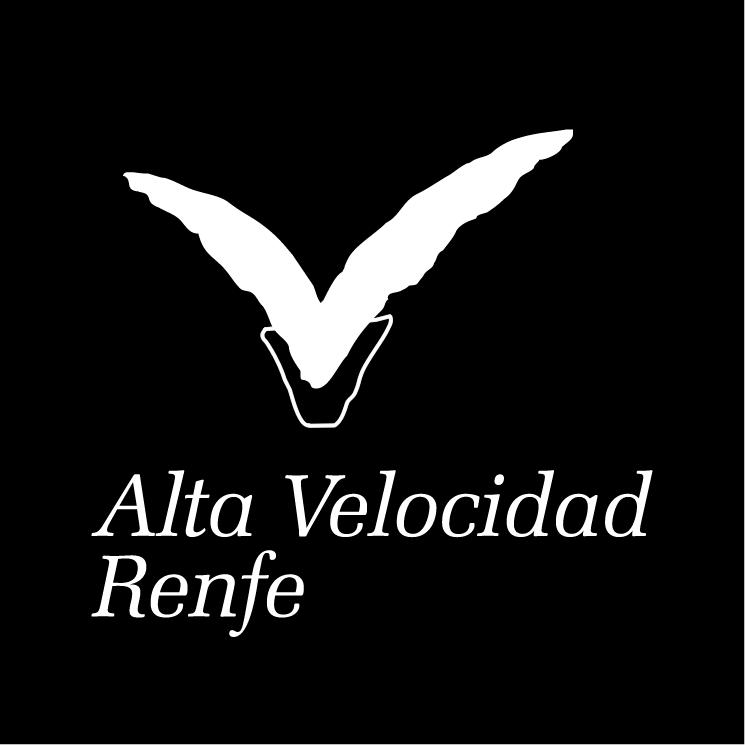 free vector Alta velocidad renfe 1