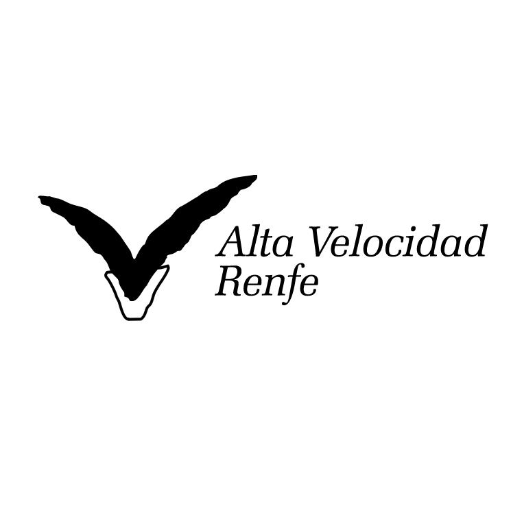 free vector Alta velocidad renfe 2