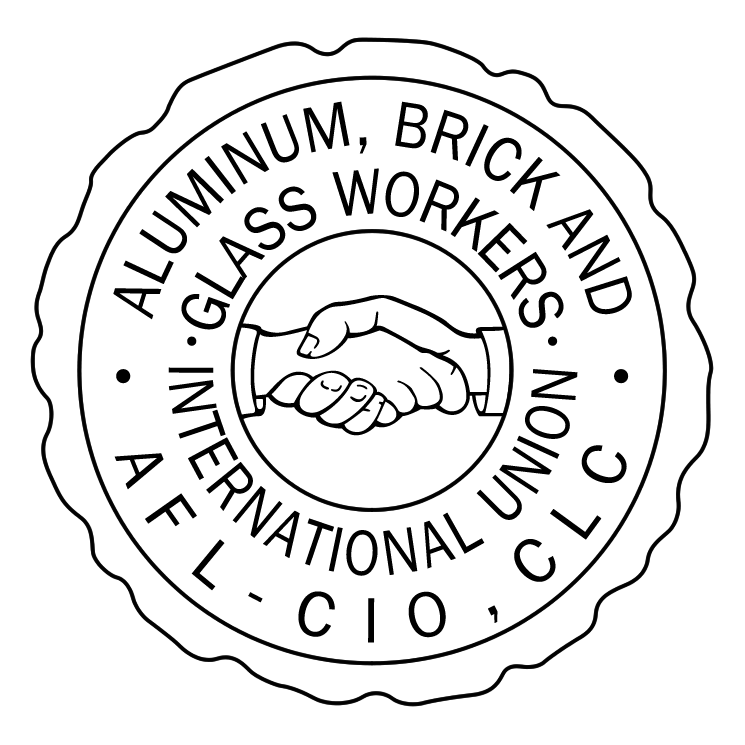 free vector Aluminum brick and glass workers international union