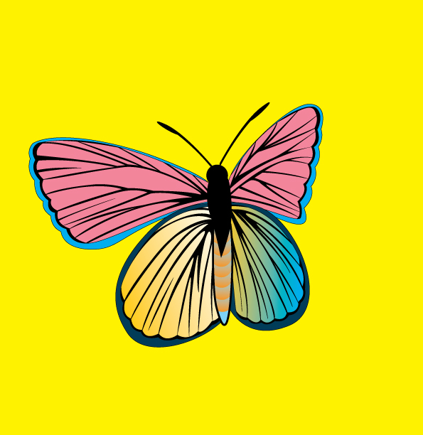 free vector AM Butterfly