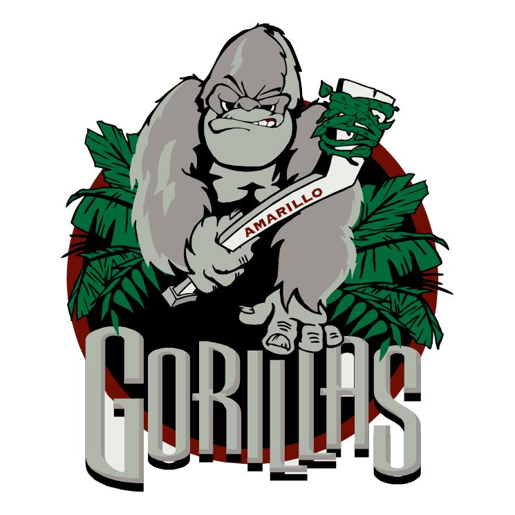 free vector Amarillo gorillas