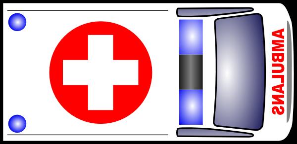 free vector Ambulance clip art