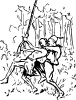 free vector Ambushed clip art