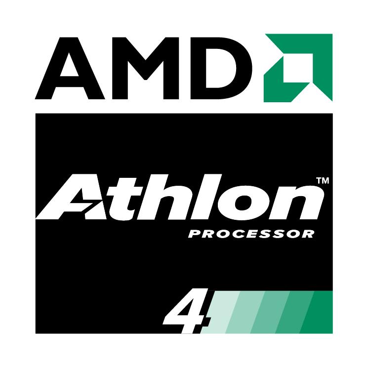 free vector Amd athlon 4 processor