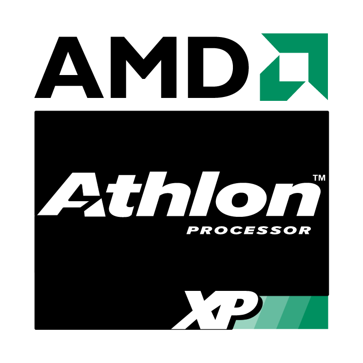 free vector Amd athlon xp processor