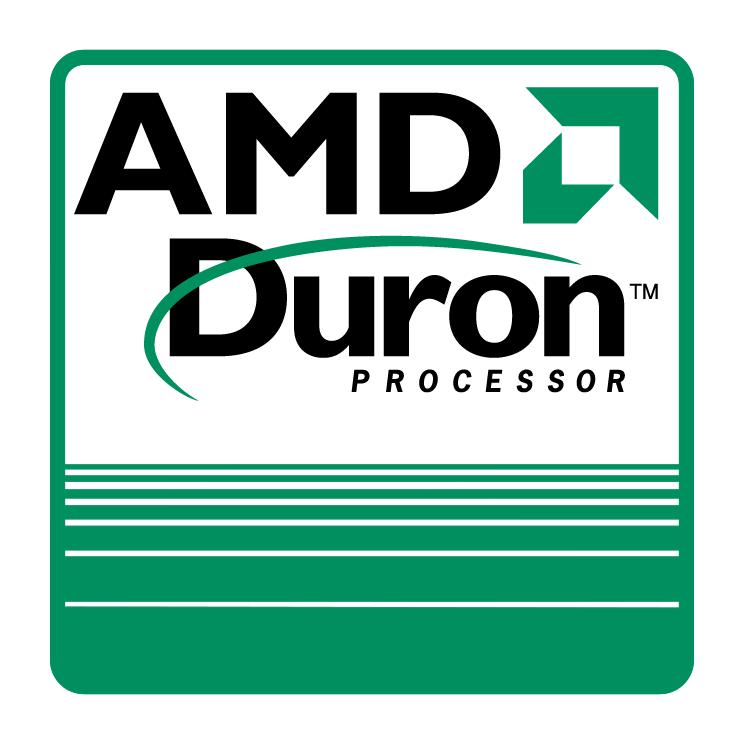 free vector Amd duron processor