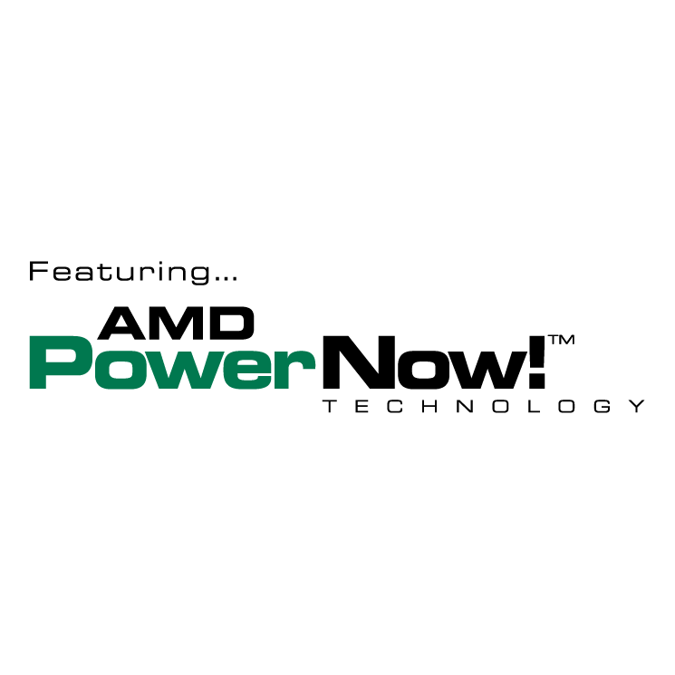 free vector Amd powernow