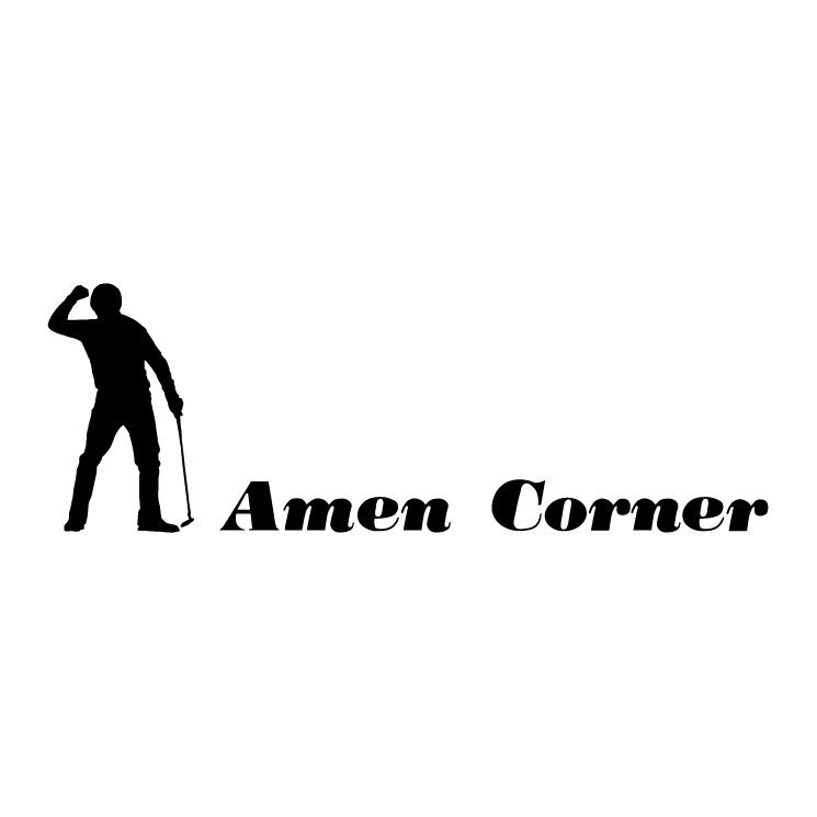 free vector Amen corner