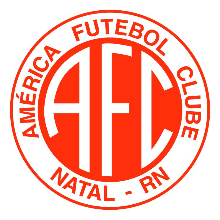 free vector America futebol clube de natal rn