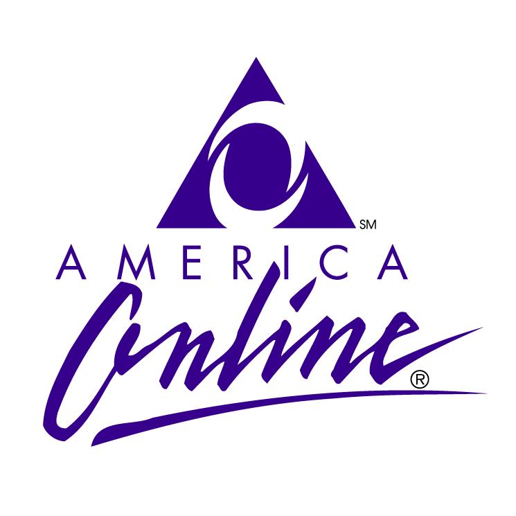 free vector America online 1