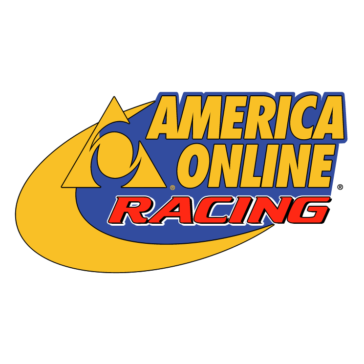 free vector America online racing