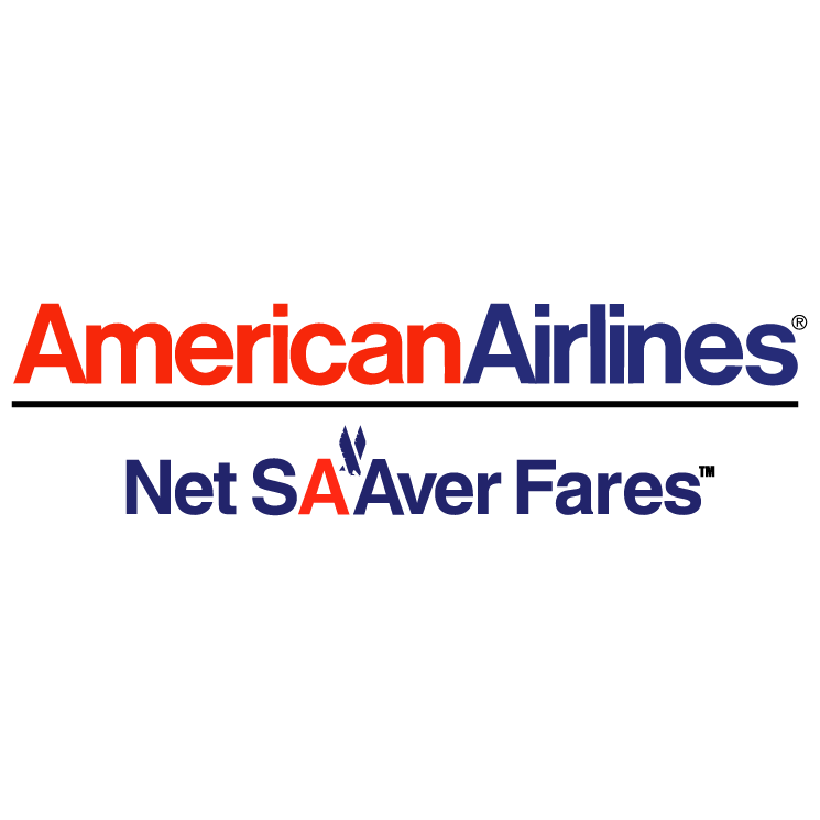 free vector American airlines net saaver fares
