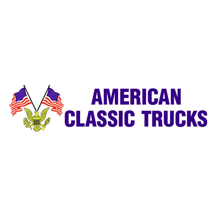 free vector American classic trucks