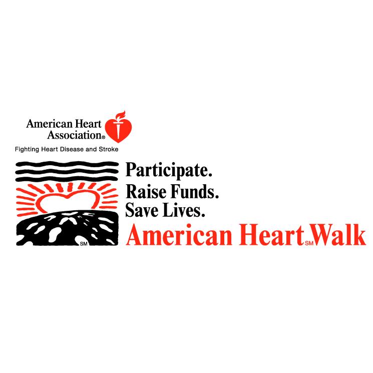 free vector American heart walk 0