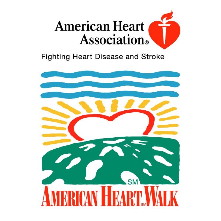free vector American heart walk