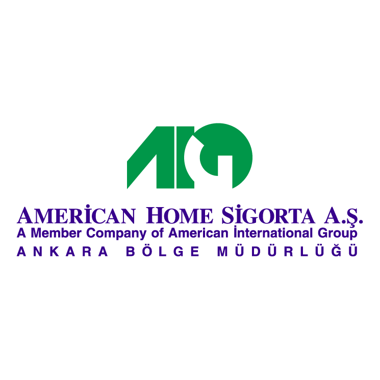 free vector American home sigorta
