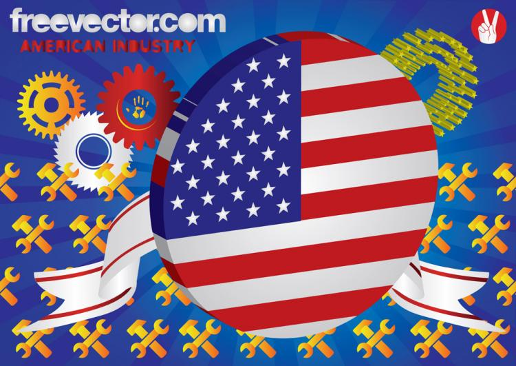 free vector American Industry