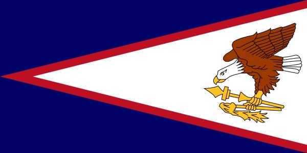free vector American Samoa clip art