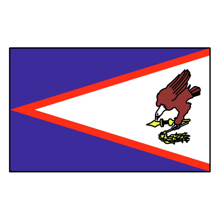 free vector American samoa