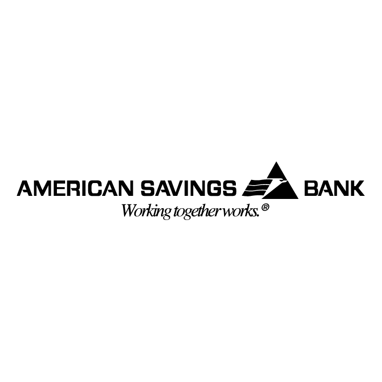 free vector American savings bank