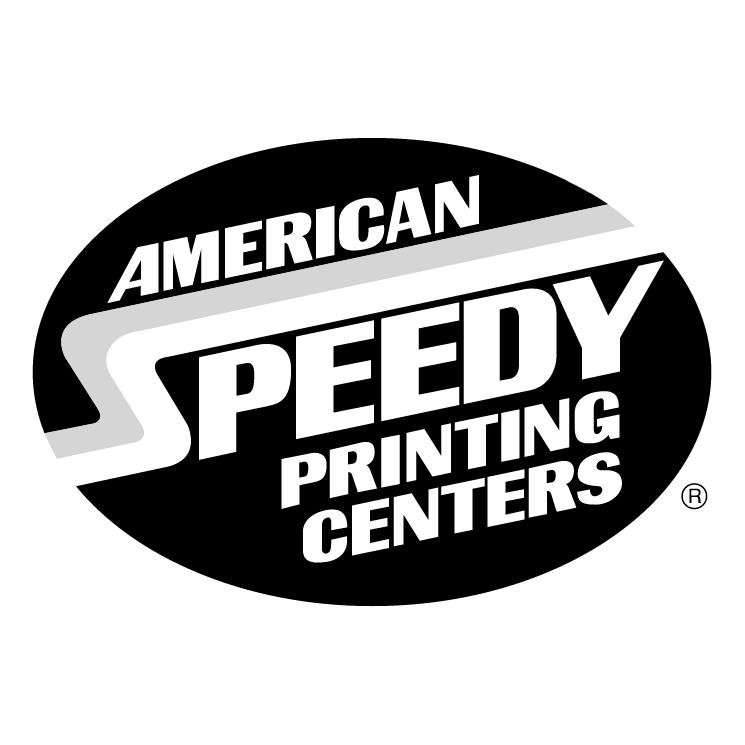 free vector American speedy printing centers