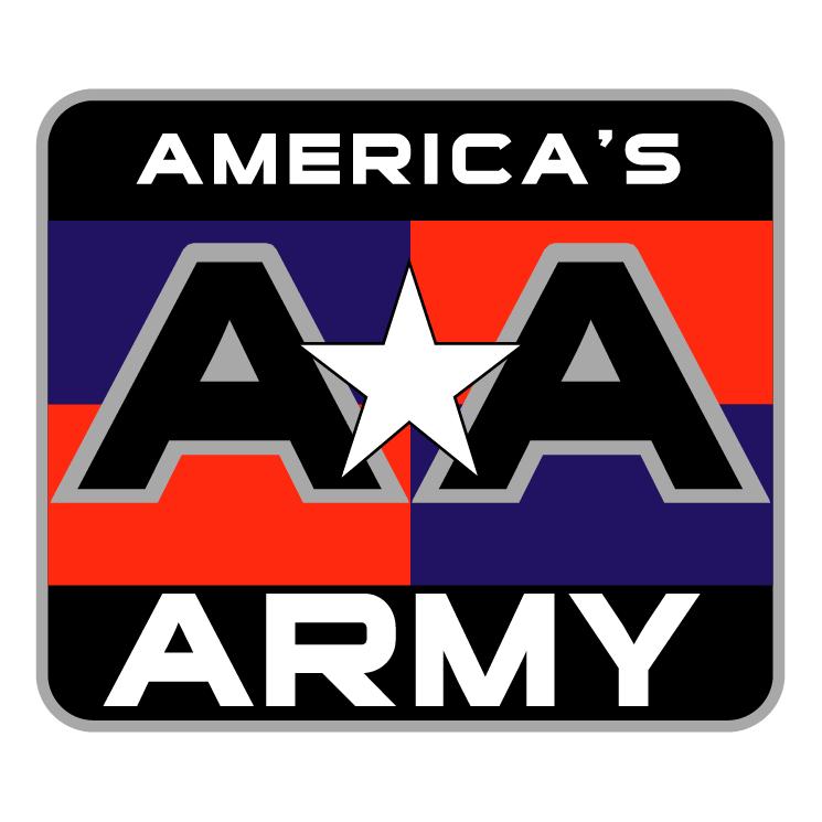 free vector Americas army