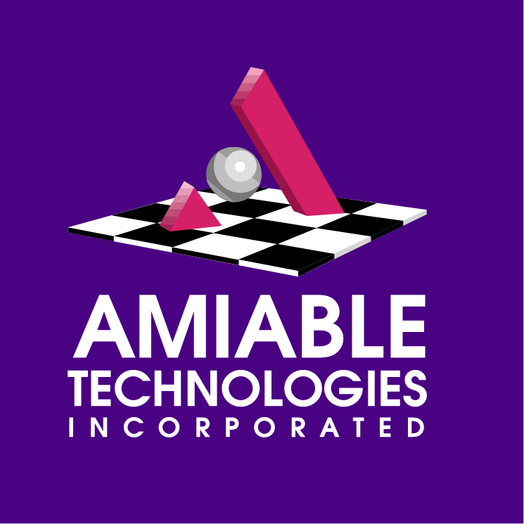 free vector Amiable technologies 0