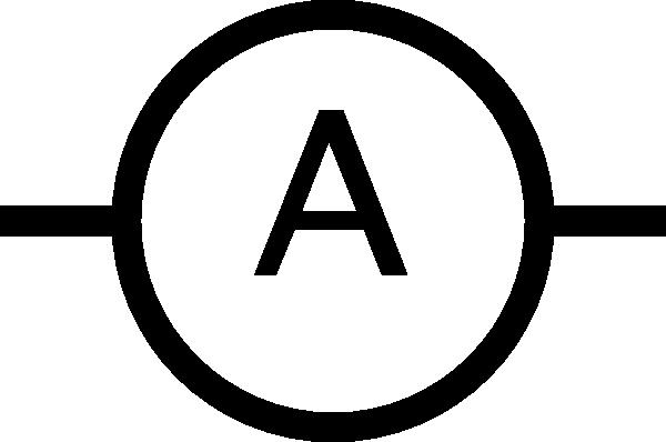 free vector Ampere Meter Symbol clip art