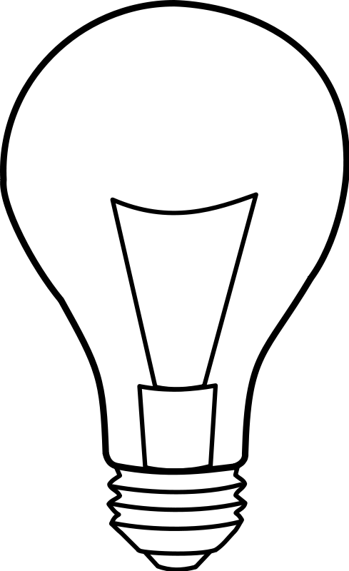 free vector Ampoule / light bulb