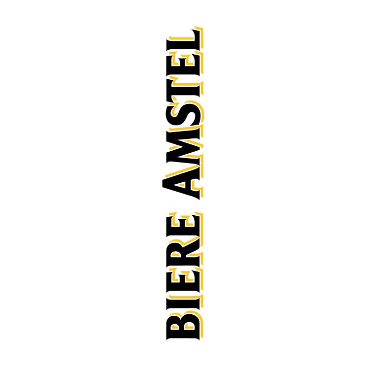 free vector Amstel biere 1