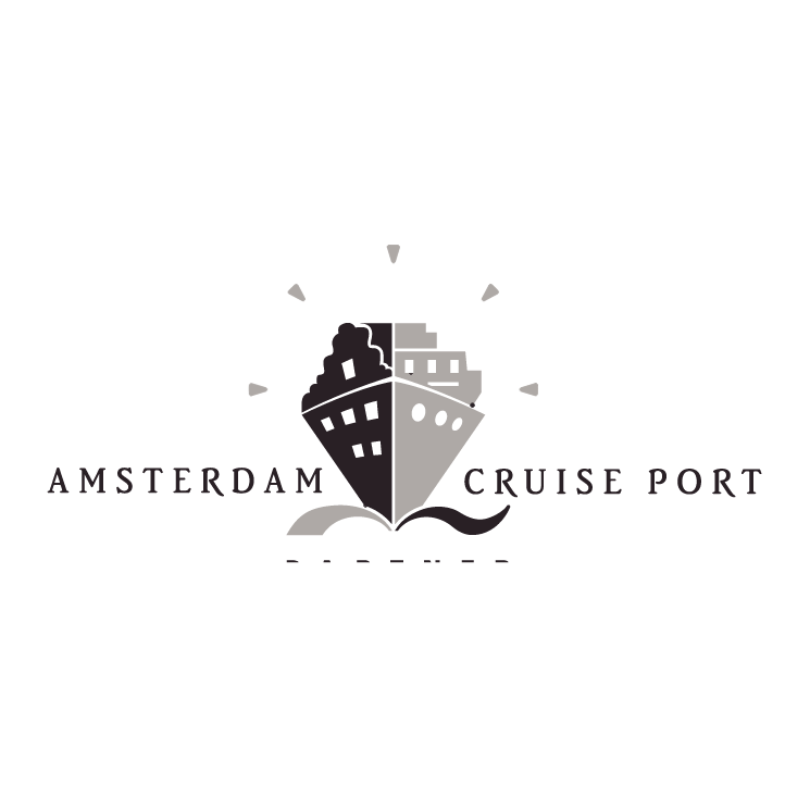free vector Amsterdam cruise port