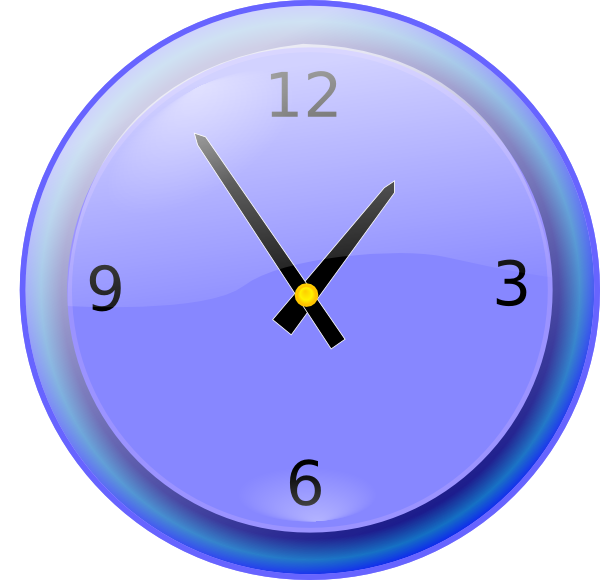 free vector Analog Clock clip art
