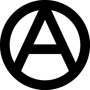 free vector Anarchy Symbol clip art