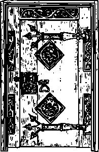 free vector Ancient Door clip art