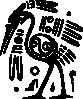 free vector Ancient Mexico Motif Bird clip art