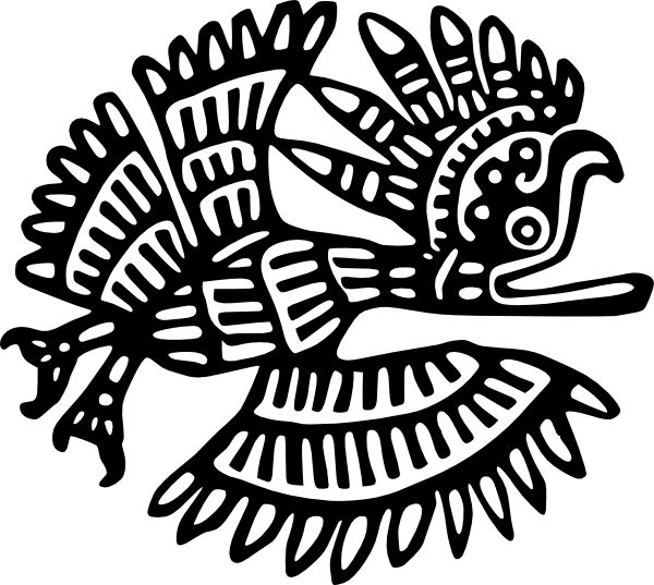 free vector Ancient Mexico Motif clip art