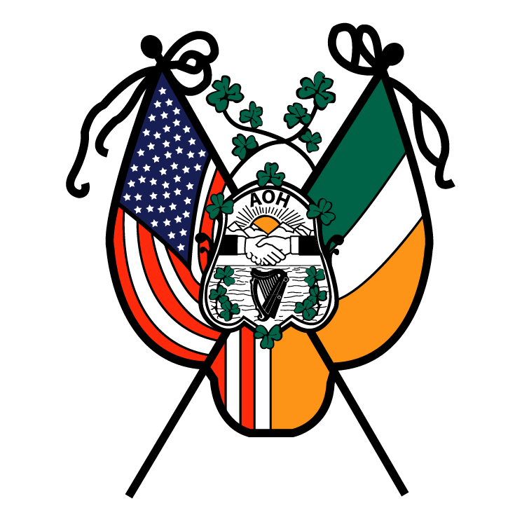 free vector Ancient order of hibernians in america