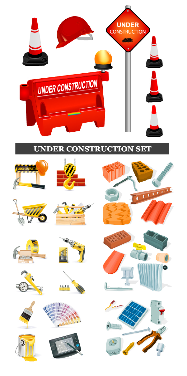free vector And construction transportationrelated clip art icon