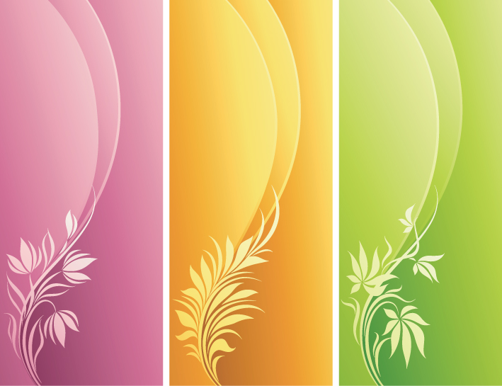 free vector And dynamic fashion pattern vector background