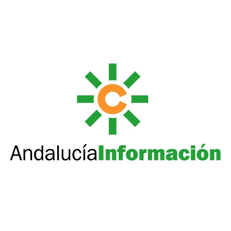 free vector Andalucia informacion
