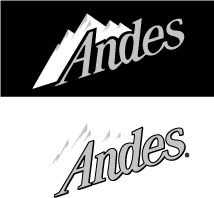 free vector Andes logo