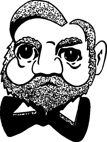 free vector Andrew Carnegie clip art 104309