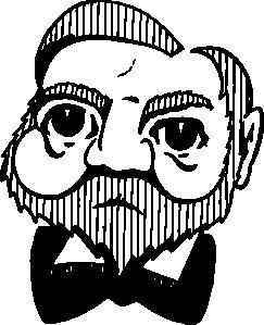 free vector Andrew Carnegie clip art 104310