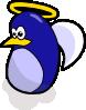 free vector Angel Penguin clip art